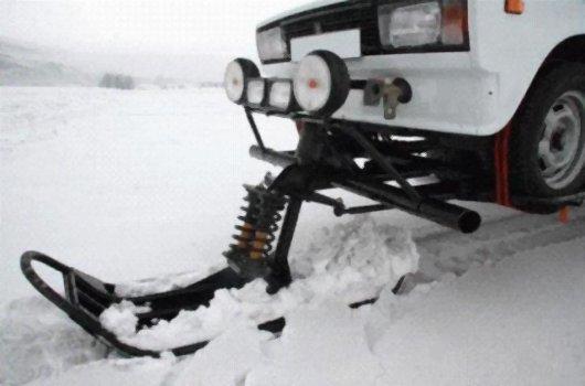 Снегоход из Жигулей