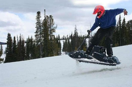 Сноуборд SnowPowerBord с двигателем