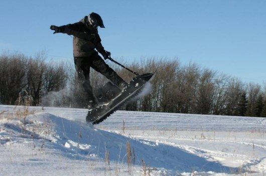 Мотосноуборд SnowPowerBord