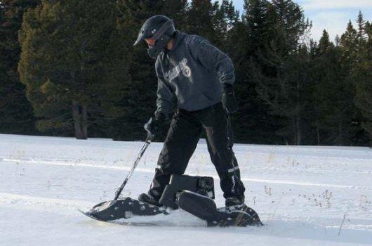 Мото-сноуборд SnowPowerBord