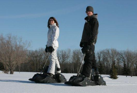 Моторизированный сноуборд SnowPowerBord