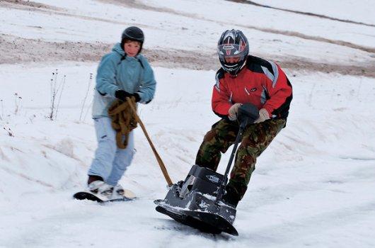 Бензиновый сноуборд SnowPowerBord