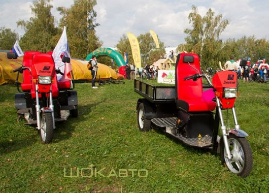 Пассажирские и грузовые электротрициклы