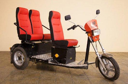Пассажирский электротрицикл ЭП-3-01