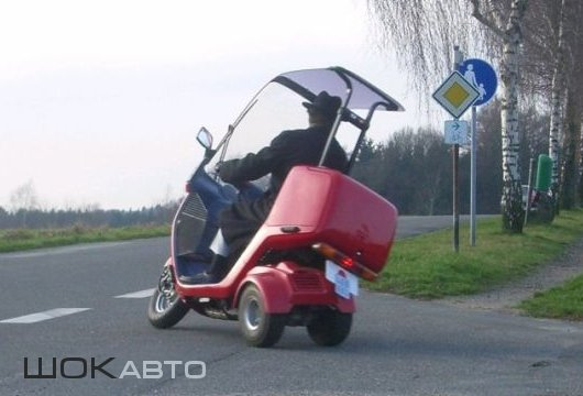 Honda Gyro Canopy Scooters