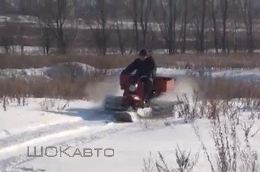 Мотороллер-снегоход Муравей