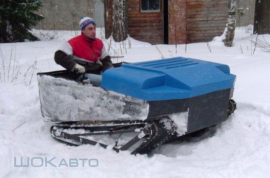 Снегоболотоход Егерь