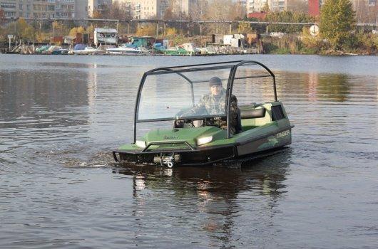 Плавающий болотоход Tinger