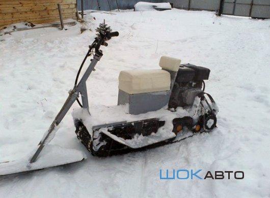 Снегоскутер-миниснегоход Снежок ДМ
