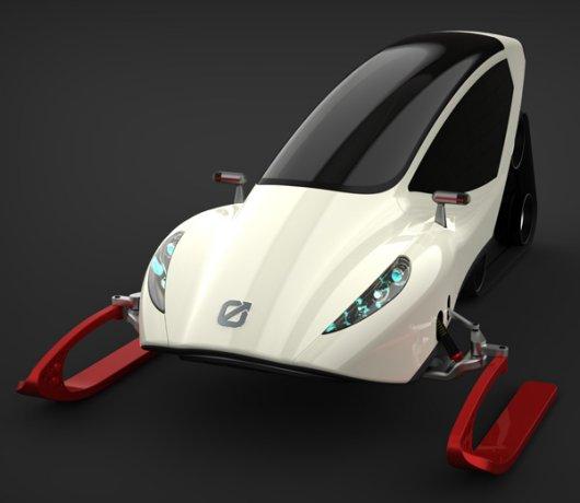Автоснегоход Snowmobile с электромотором