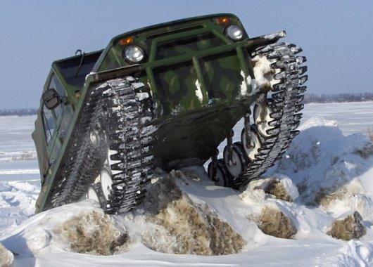 Снегоболотоход ЗВМ 2410 Ухтыш
