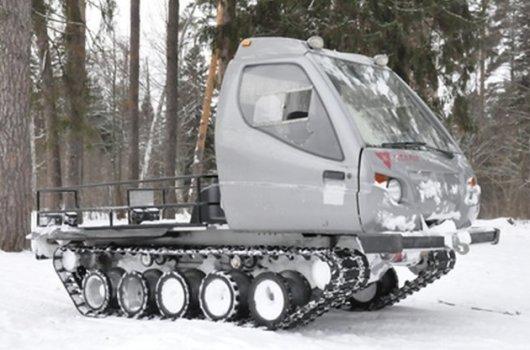 Гусеничный снегоход Итлан