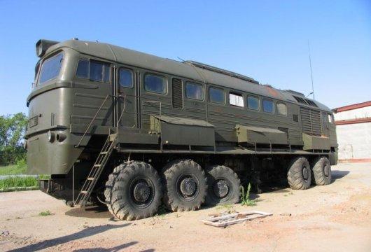Тепловоз-вездеход М-62 «Машка»