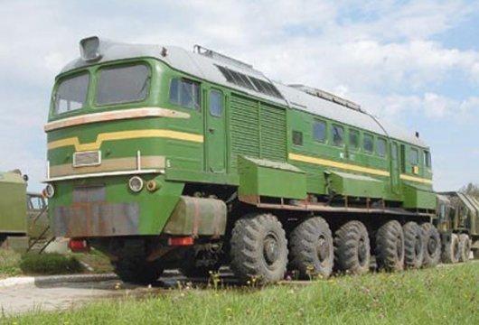 Тепловоз-электростанция М-62 «Машка»