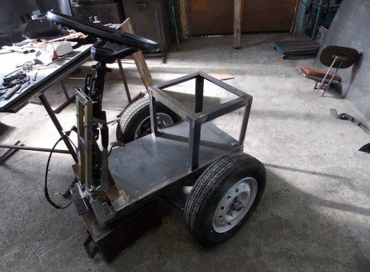 Мотоблочный рулевой адаптер