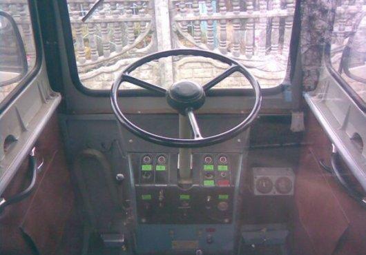 Скрещивание мини-трактора и УАЗа