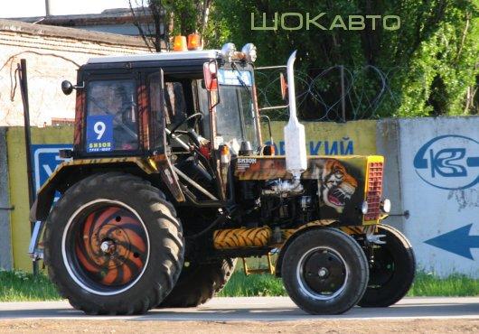 Тюнинг трактора своими руками фото