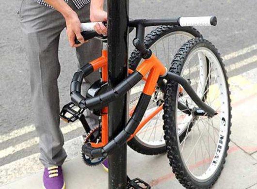 Гнущийся велосипед Bendy Bike