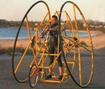 Гротескный велосипед HyperBike