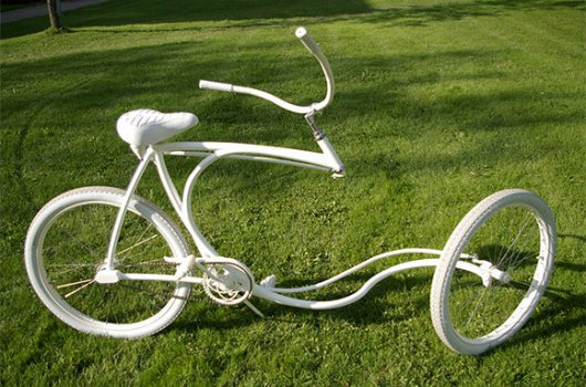 Велосипед Forkless Cruiser без рулевой вилки