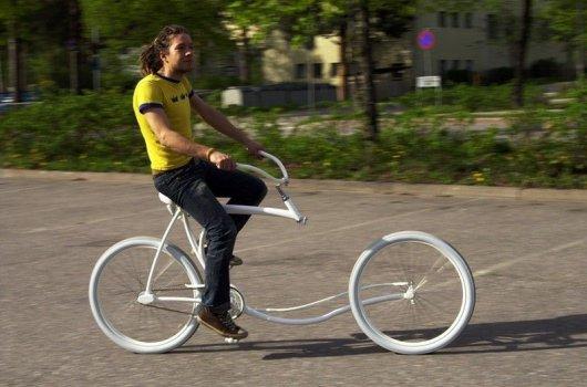 Прогулочный велосипед Forkless Cruiser