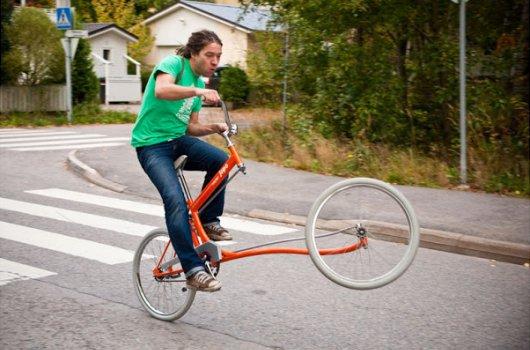 Финский велосипед Forkless Cruiser Bike