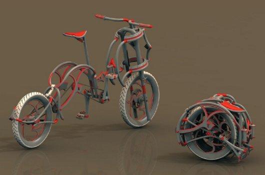 Сделать велосипед складной
