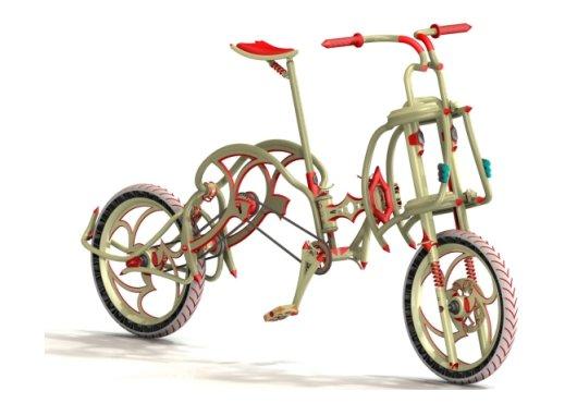 Концептуальный разборный велосипед Dubike