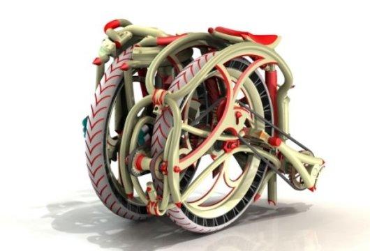 Необычный складной велосипед Dubike