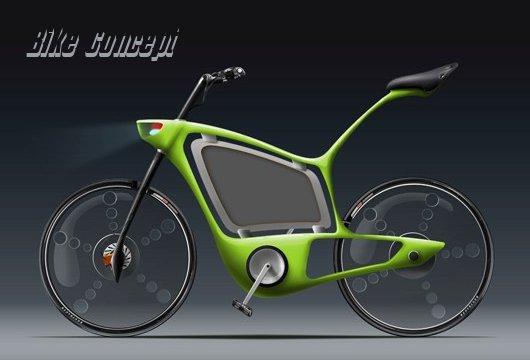 Bike Concept для полицейских