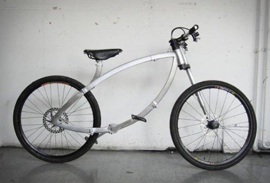 Сворачивающийся велосипед Акробат