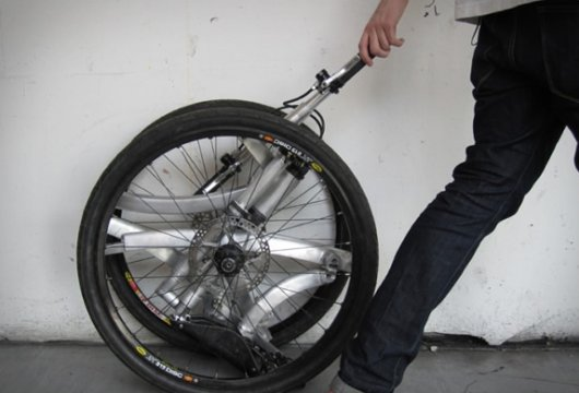 Сворачивающийся велосипед Contortionist