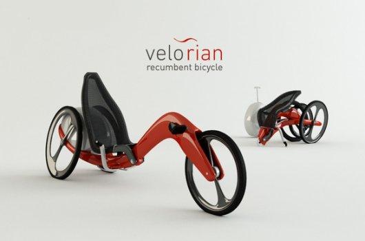 Трехколесный складной велосипед Velorian