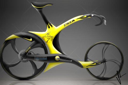 Концептуальный велосипед TREK