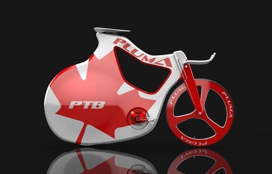 Профессиональный гоночный велосипед Pluma
