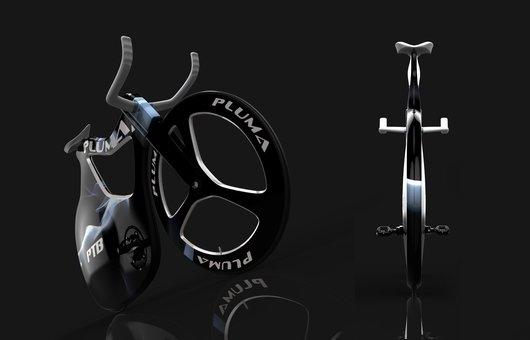 Концептуальный велосипед Pluma