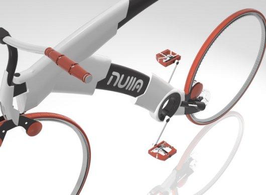 Концептуальный велосипед Nulla
