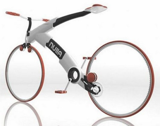 Футуристический велосипед Nulla