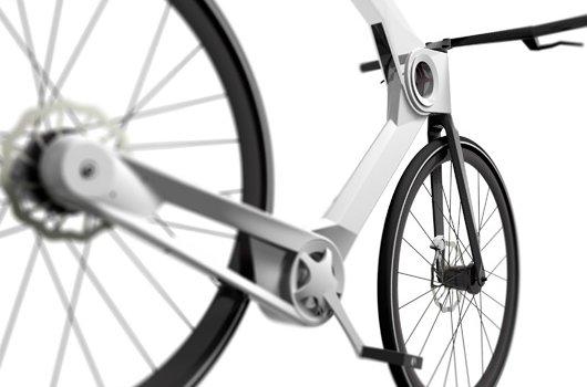 Складной велосипед USB