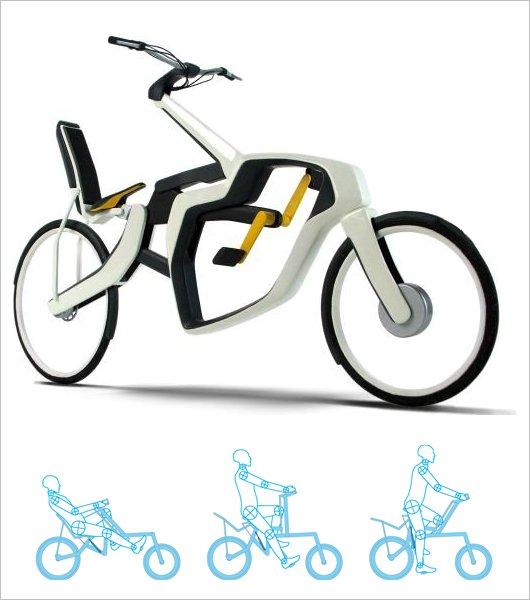 Велосипед-трансформер Zweistil