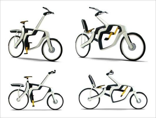 Электровелосипед-трансформер Zweistil