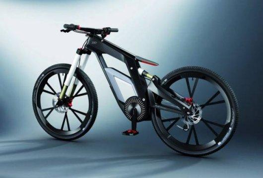 Велосипед Audi eBike с электродвигателем