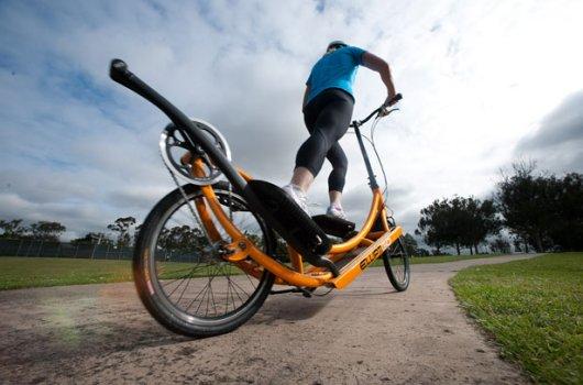 Эллиптический велосипед-тренажер ElliptiGO