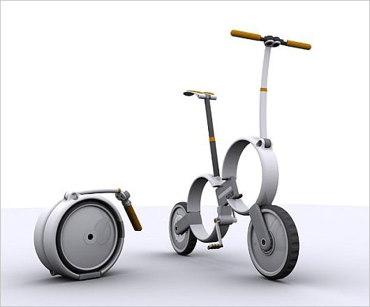 Складной велосипед-кейс Один