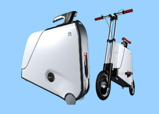 Складной велосипед-чемодан One
