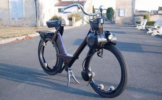 Велосипед с двигателем Solex