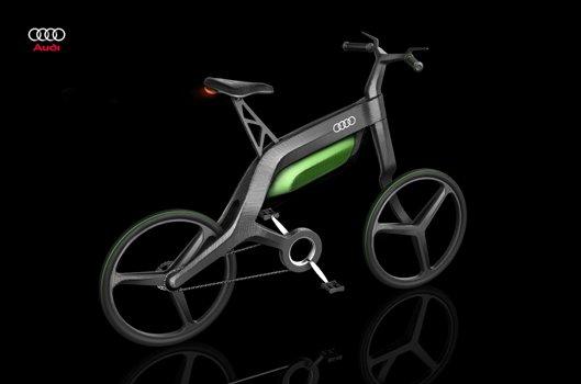 Электрический велосипед Audi