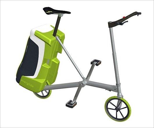 Велосипед из сумки