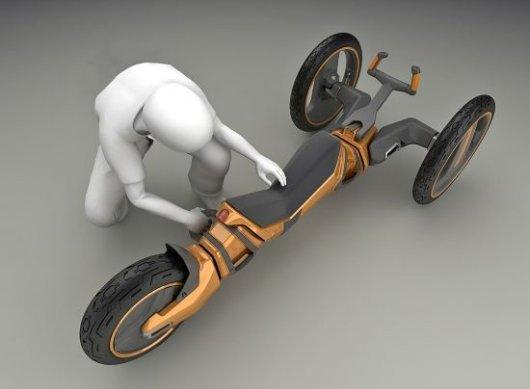 Трехколесный велотрансформер