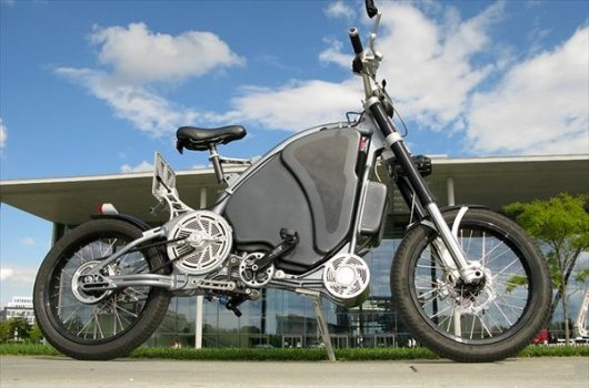 Веломотоцикл eROCKIT